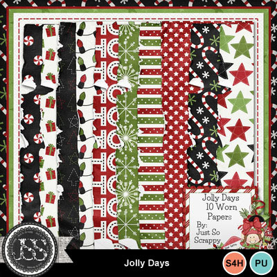 Jolly_days_worn_papers