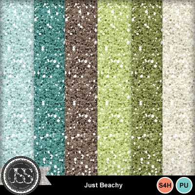 Just_beachy_glitter_papers