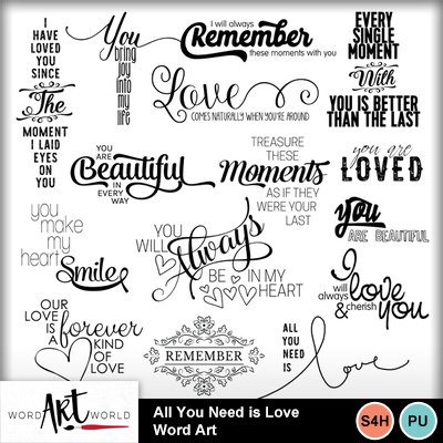 All_you_need_is_love_word_art