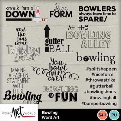 Bowling_word_art