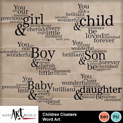Children_clusters_word_art