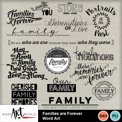 Families_are_forever_word_art