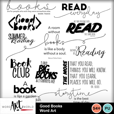 Good_books_word_art