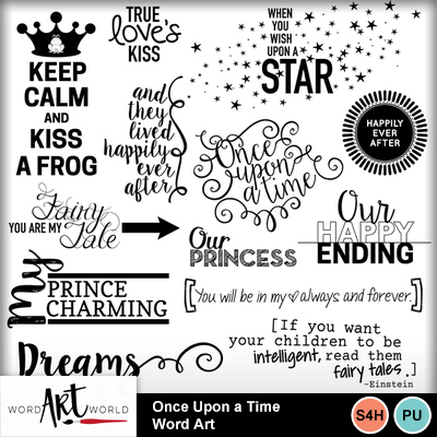 Once_upon_a_time_word_art