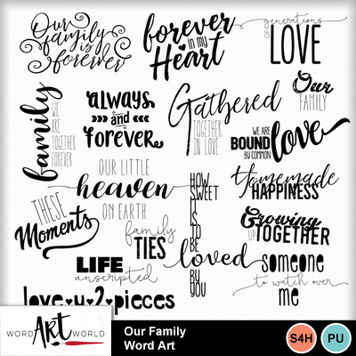 Our_family_word_art