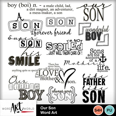 Our_son_word_art