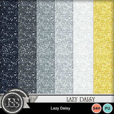 Lazy_daisy_glitter_papers