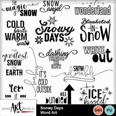 Snowy_days_word_art