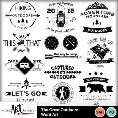 The_great_outdoors_word_art
