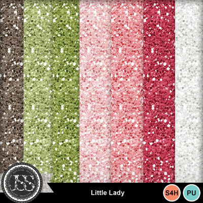 Little_lady_glitter_papers