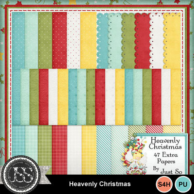 Heavenly_christmas_pattern_papers