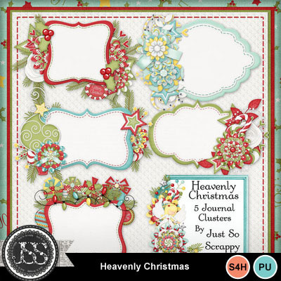 Heavenly_christmas_journal_clusters