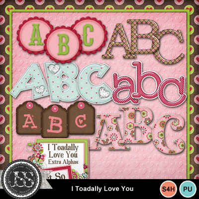 I_toadally_love_you_alphabets
