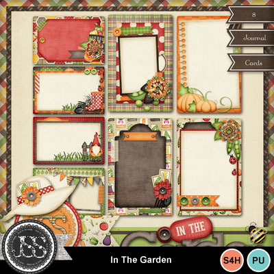 In_the_garden_journal_cards