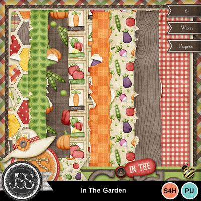 In_the_garden_worn_papers