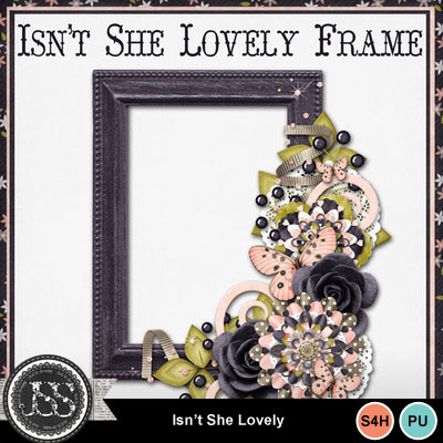 Isnt_she_lovely_cluster_frame