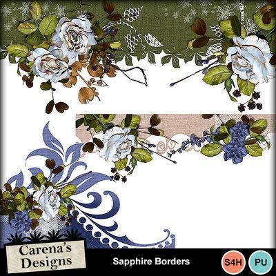 Sapphire-borders