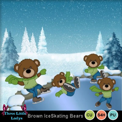 Brown_ice_skating_bears--tll