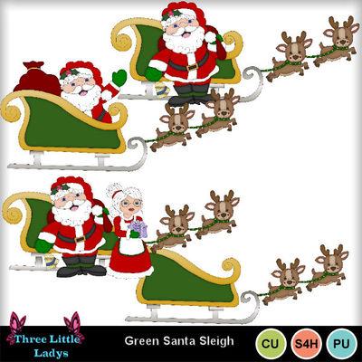 Green_santa_in_sleigh--tll