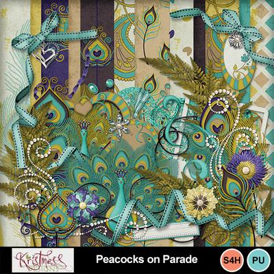 Peacocksonparade