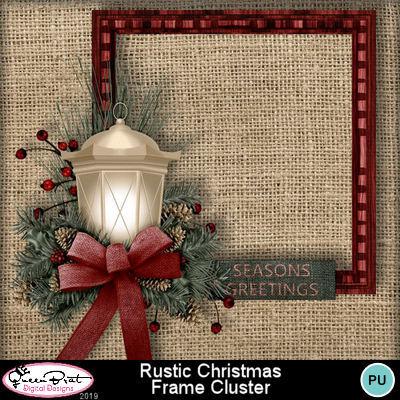 Rusticchristmas_framecluster