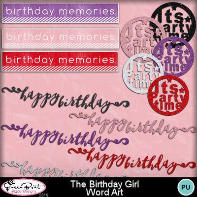 Thebirthdaygirl_wordart