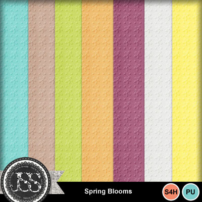 Spring_blooms_embossed_papers