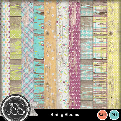 Spring_blooms_wood_papers