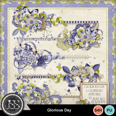 Glorious_day_cluster_stitches