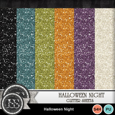Halloween_night_glitter_papers