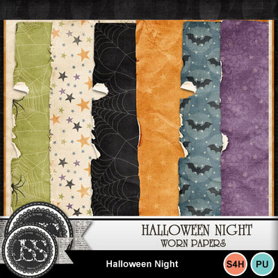Halloween_night_worn_papers
