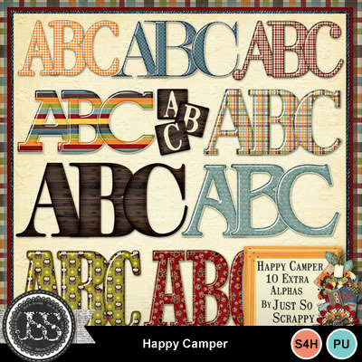 Happy_camper_alphabets