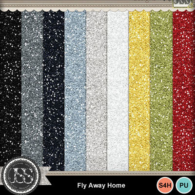Fly_away_home_glittter_papers