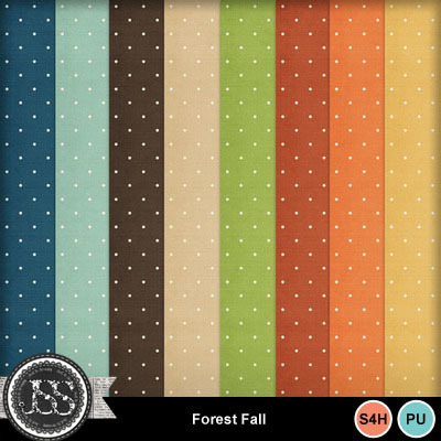 Forest_fall_polkadots_papers
