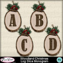 Woodlandchristmas_logslicemonogram1-1_small