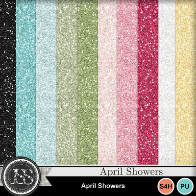 April_showers_glitter_papers