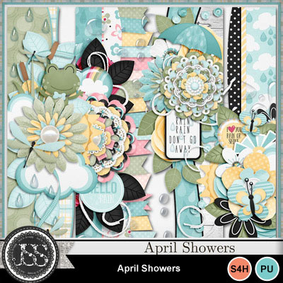 April_showers_page_borders