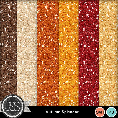Autumn_splendor_glitter_papers