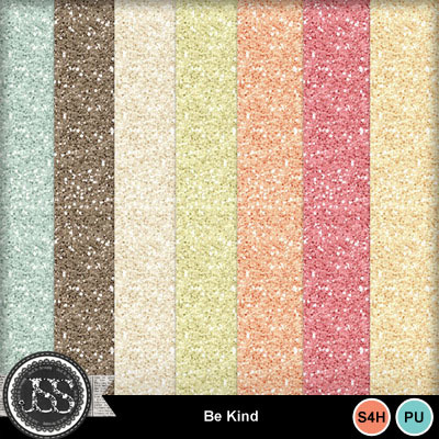 Be_kind_glitter_papers