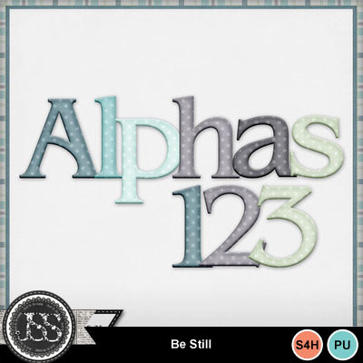 Be_still_alphabets