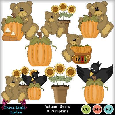 Autumn_bears_n_pumpkins--tll