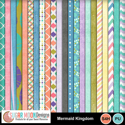 Sugarmoon_mermaidkingdom_papers