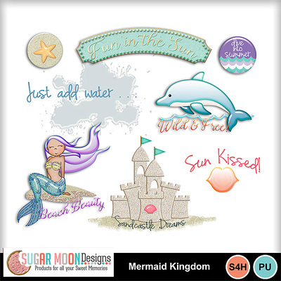Sugarmoon_mermaidkingdom_wordarts