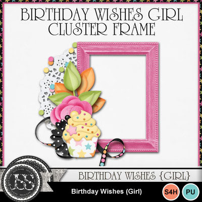 Birthday_wishes_girl_cluster_frame