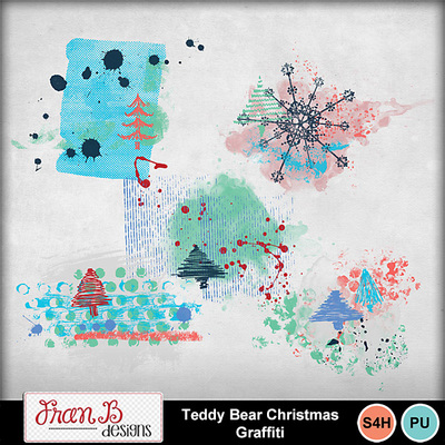 Teddybearchristmasgraffiti1
