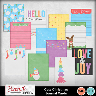 Cutechristmasjournalcards1