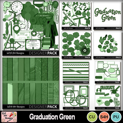 Graduation_basics_green_bundle
