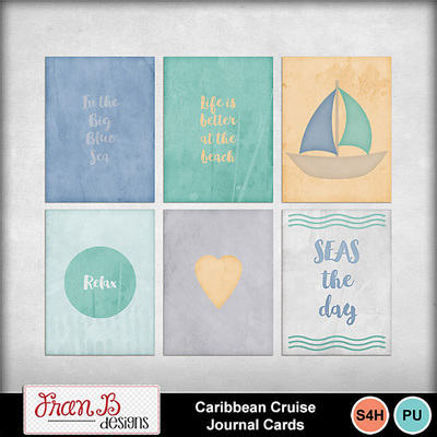Caribbeancruisejournalcards1
