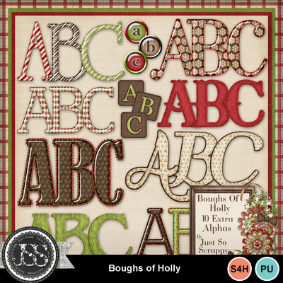 Boughs_of_holly_alphabets
