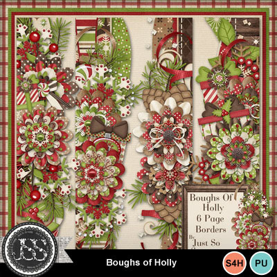 Boughs_of_holly_page_borders